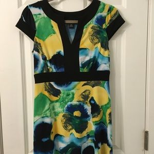 Floral print semi-formal dress